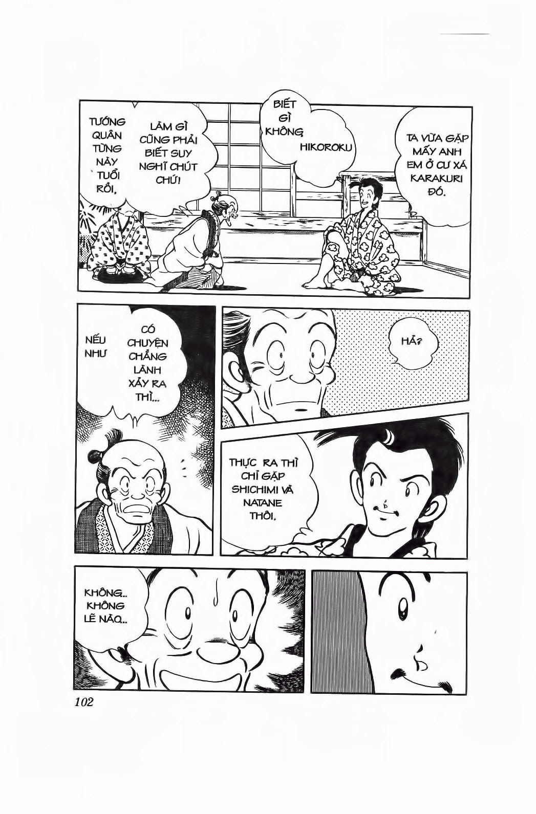 Nijiiro Togarashi - Ớt Bảy Màu chap 95 - Trang 7