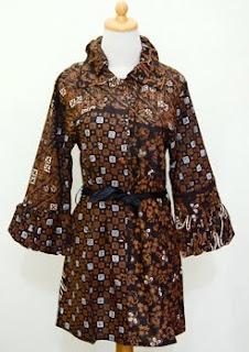 Model Batik Modern Wanita