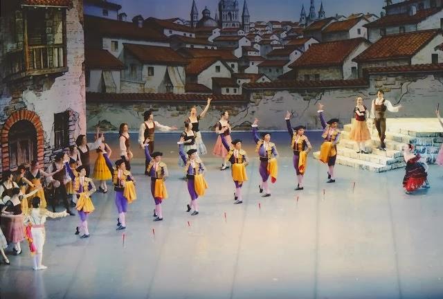 tani momoko ballet company stage