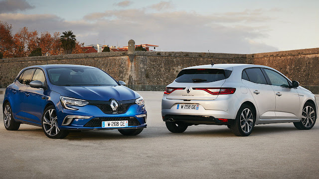 All-New Renault Mégane GT and All-New Renault Mégane