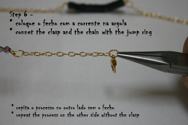 DIY Delicate Bracelet - connecting the chain, clasp, and jump ring