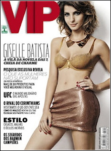 Download Revista VIP Giselle Batista Agosto 2012