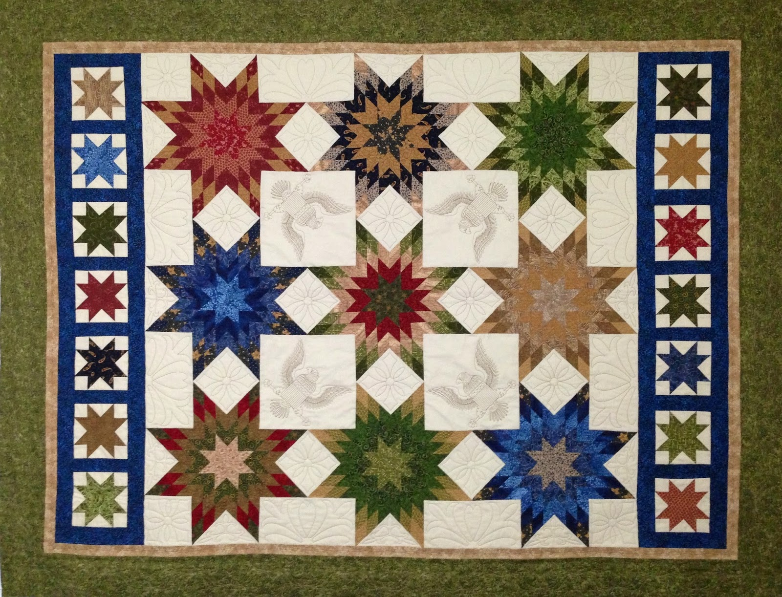 Becky Hobza Eagle Scout Quilt