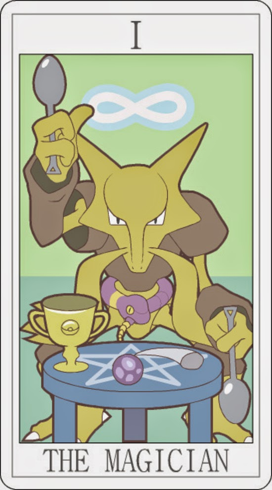 Pokemon Tarot - The Magician