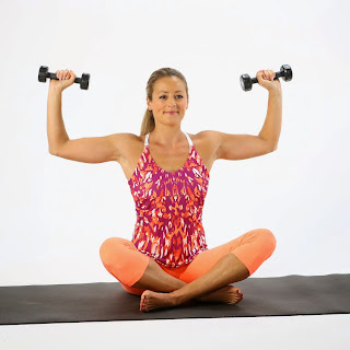 Girls Home Low Weight Exercises To Tone Arms