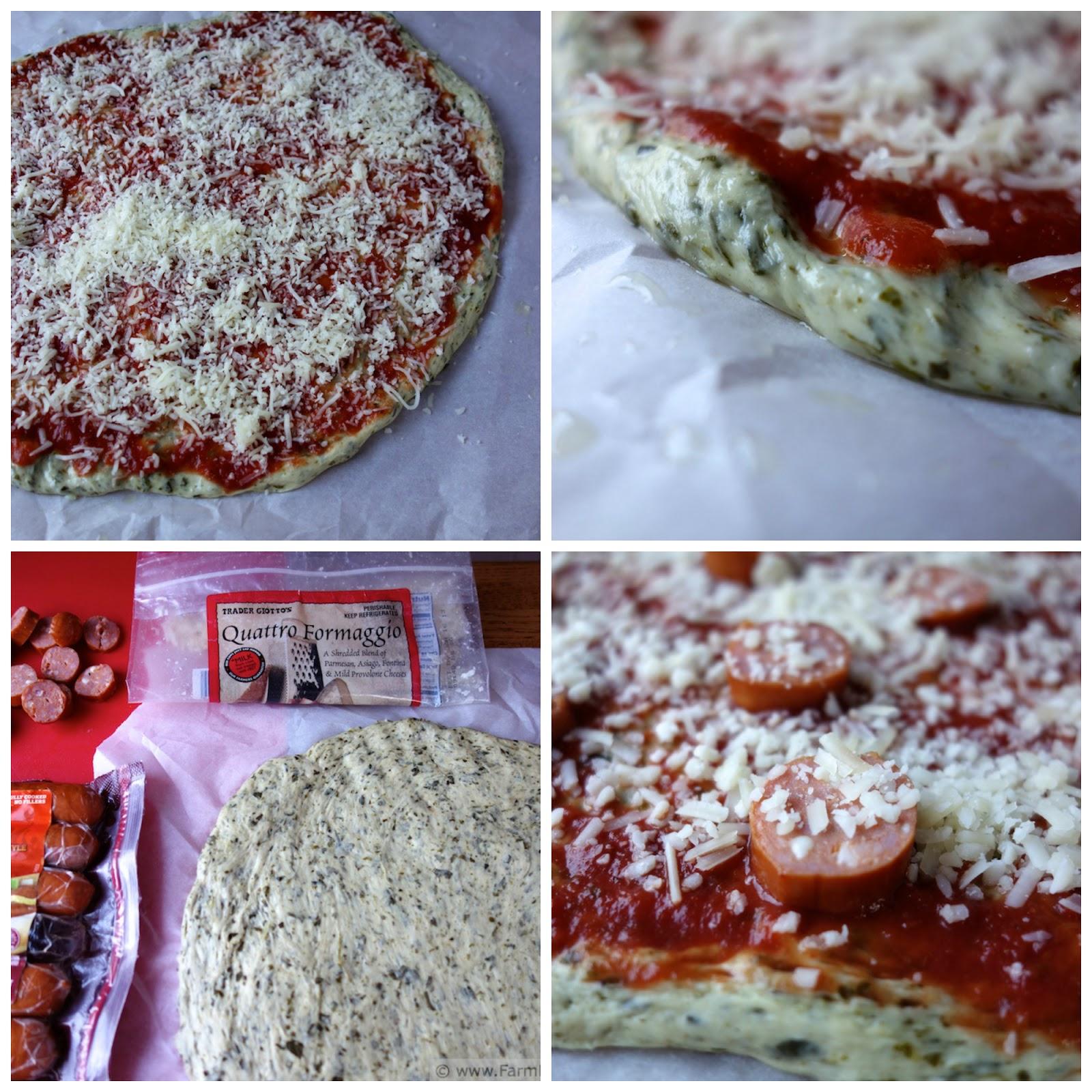 Farm Fresh Feasts: Basic Kale Pizza Dough (Pizza Night!)