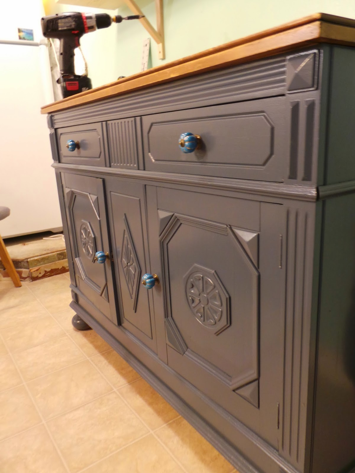 Painted buffet table furniture - Painted Buffet Table Furniture 9