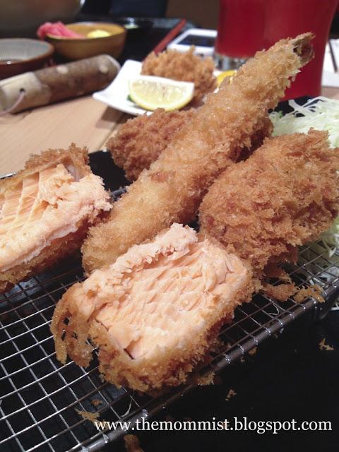 Seafood Katsudon