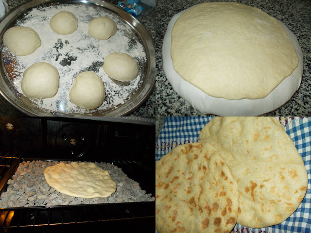 أحلى وأسهل طريقة لعمل خبز الطابون الفلسطيني