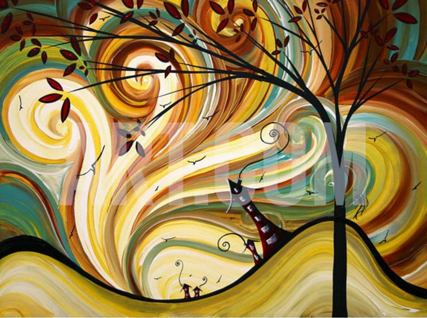 Pintura moderna y fotograf a art stica minimalismo - Cuadros modernos faciles de pintar ...