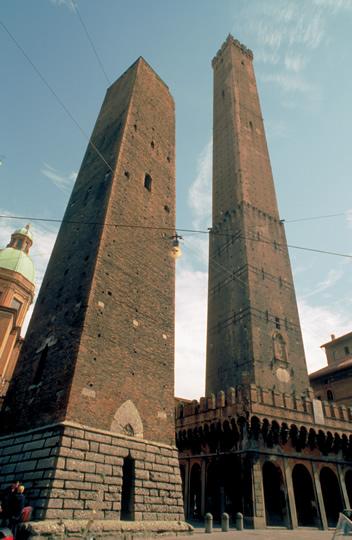 Bologna ieri e oggi le due torri for Oggi in romagna