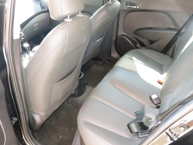Hyundai Hb20 - Espaço traseiro