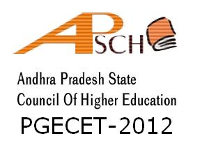 Pgecet 2012 Counciling Dates | Pgecet 2012 Seat allotment