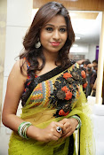Manali rathod sizzling photos in saree-thumbnail-2