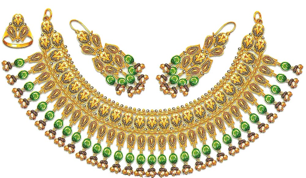 Fashion Clothes Designing And Tattoos: jewellery designs necklace