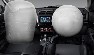Dual SRS Airbags Mitsubishi Outlander Sport