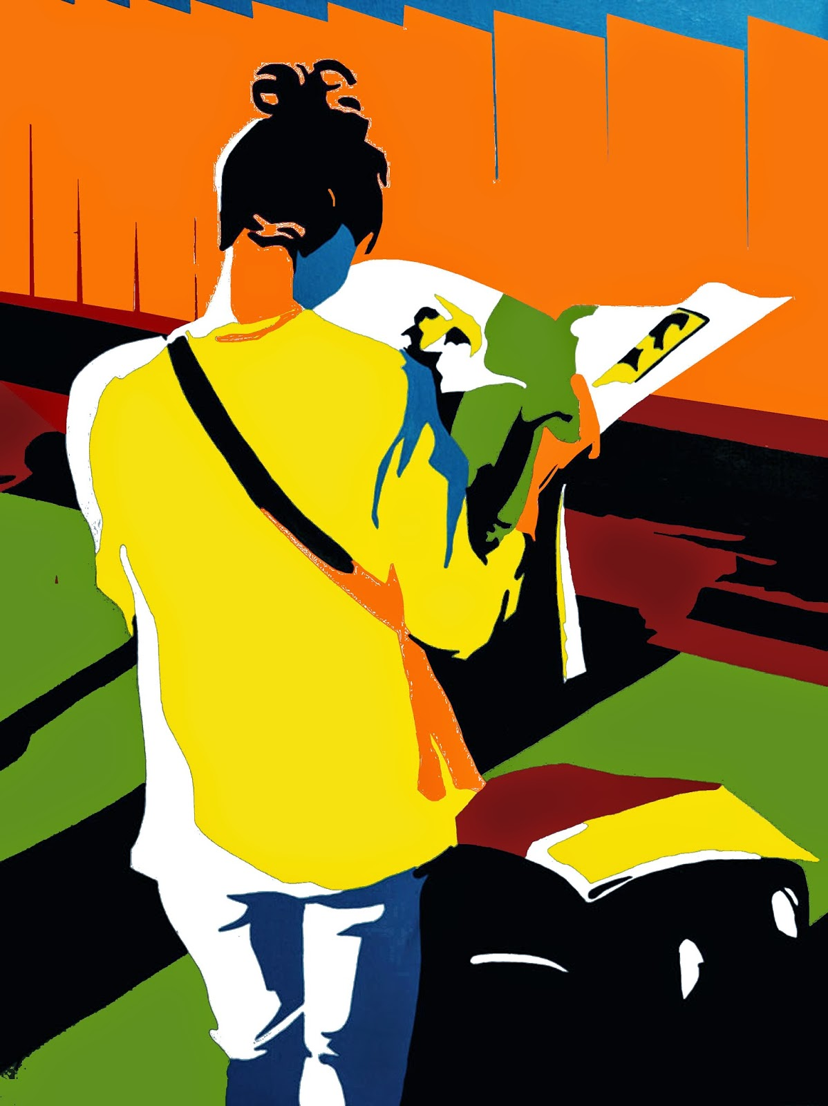 Art by Artist Devajyoti Ray profiled on Art Scene India, Image courtesy artist