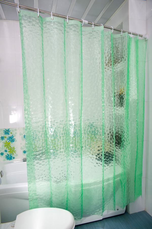 Home interior gallery bathroom curtains designs - Curtain photo designs ...