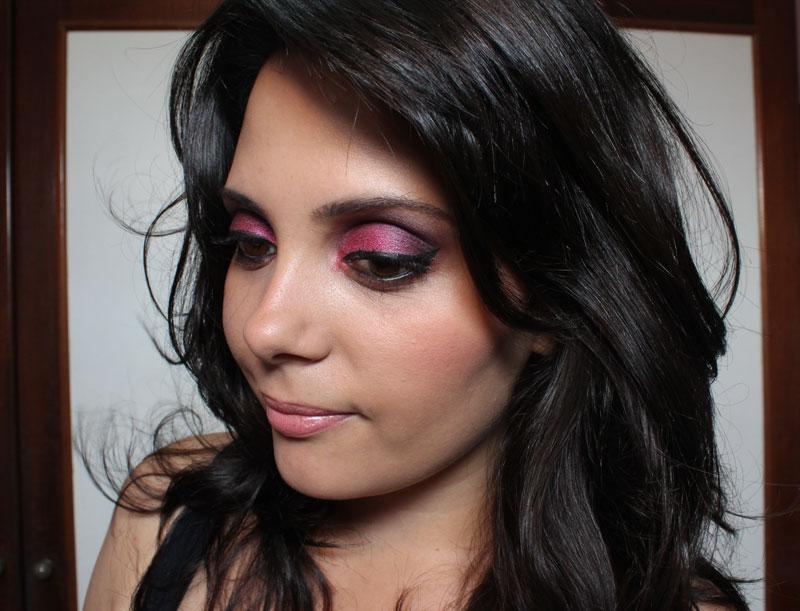 IMG 2775 Tutorial de Maquiagem: Rosa e Roxo   Pink Gloss