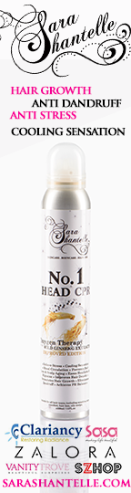 SaraShantelle No.1 Head CPR. Anti-Stress. Hair Growth Tonic with Wild Ginseng Extracts.