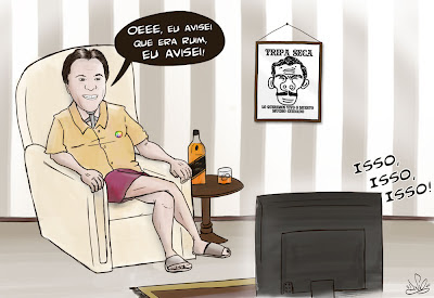 silvio santos assistindo episodios perdidos do chaves