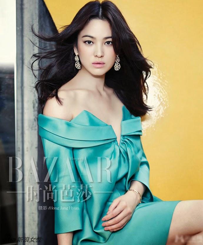 Song Hye Kyo Harper's Bazaar China November 2014