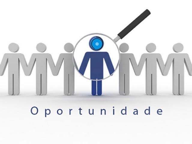 Oportunidade de emprego na área de atendimento