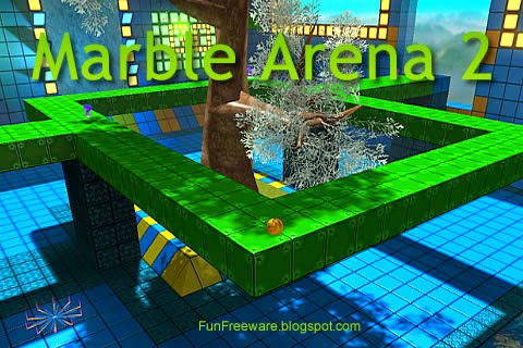 Marble Arena 2 Freeware Puzzle Game Screenshot Image