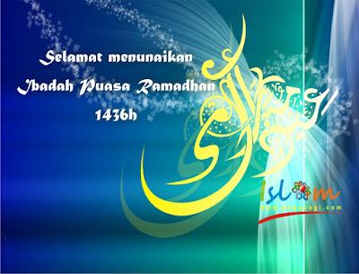 Ucapan selamat puasa ramadan 2015 1436h