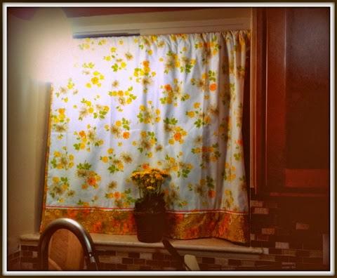 Stitch fetish new amp old vintage kitchen curtains