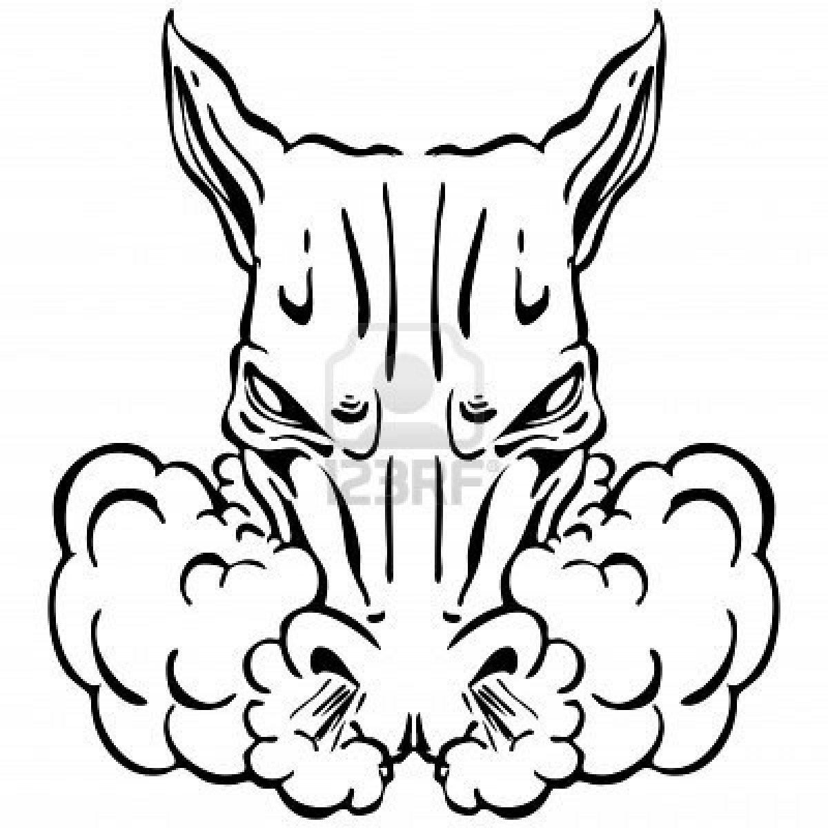 Dibujo de cabeza de caballo para colorear - Imagui