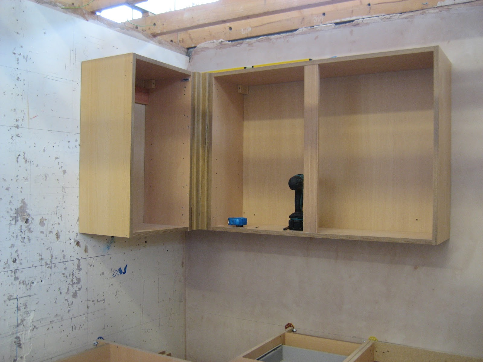 Kitchen Cabinets Attach to Walls