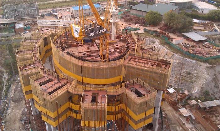 Supertech Supernova :: Construction Status July, 2014