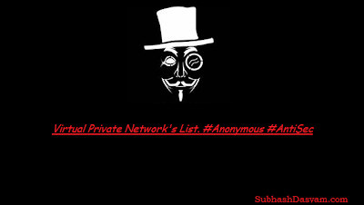 Anonymous VPN List
