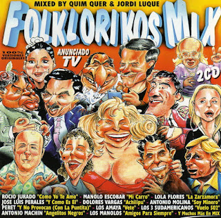 Folklorikos Mix una album repleto de hits de la cancion española