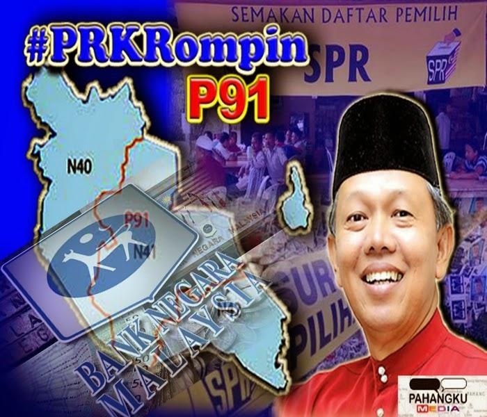 PRKRompin HUTANG NEGARA 700 BILLION PAS MENIPU LAGI DI PRK ROMPIN