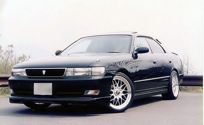 Toyota Chaser X90, tuning, drifting, RWD, zdjęcia, JDM, napęd na tył, japoński sportowy sedan, 日本車, チューニングカー, トヨタ