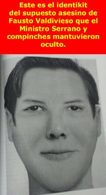 Lo que el gobierno te oculta: Identikit de supuesto asesino de Fausto Valdiviezo