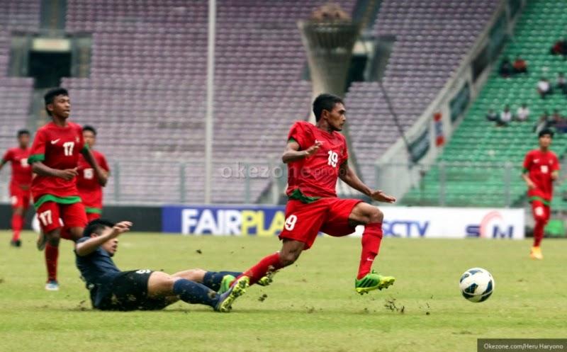 Laga Ujicoba : Timnas U-19 1 – 0 Timnas Singapura U-19