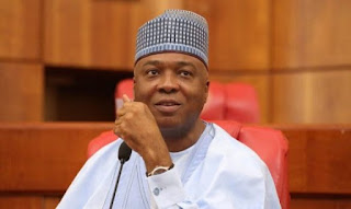 Lies. Ignore. No Such Thing', Saraki Denies Report He's Running For President In 2019