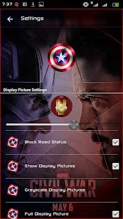 BBM Captain Amerika Apk