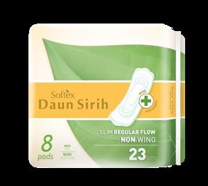 Softex Daun Sirih Regular Non Wing 8