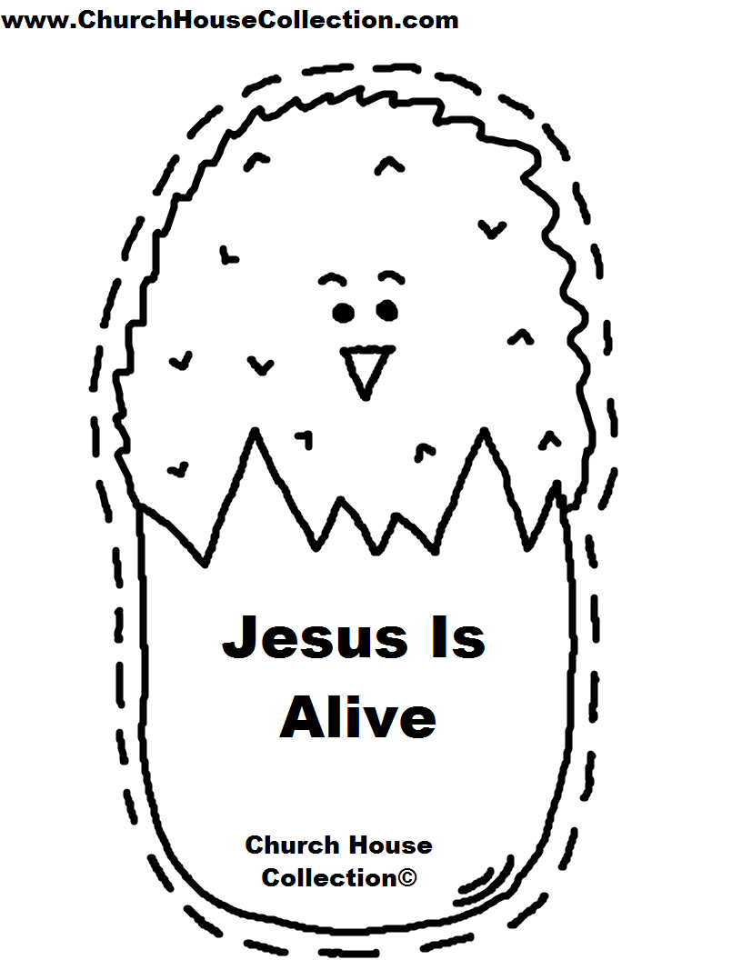 Church house collection blog spring chick sunday school for Childrens sunday school crafts