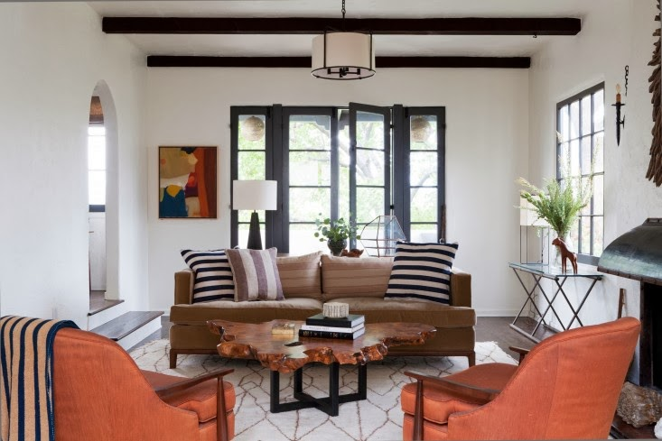Modern palm boutique la spanish colonial revival redo Modern colonial interior design