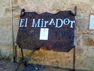 O Mirador fica na parte histórica de Zamora