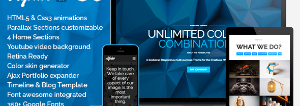 Download ThemeForest ALPINE V1.4 – WordPress Responsive One Page Parallax for free.