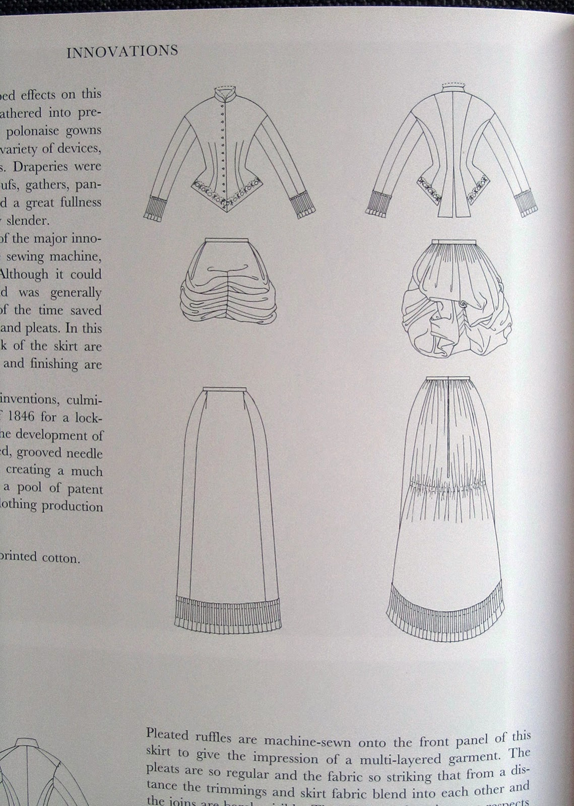 inside of book: Fashion in detail