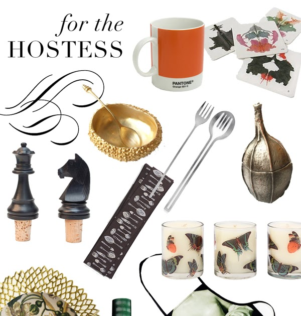 Luisa design gift guides part iii for the hostess for Apartment design guide part 4