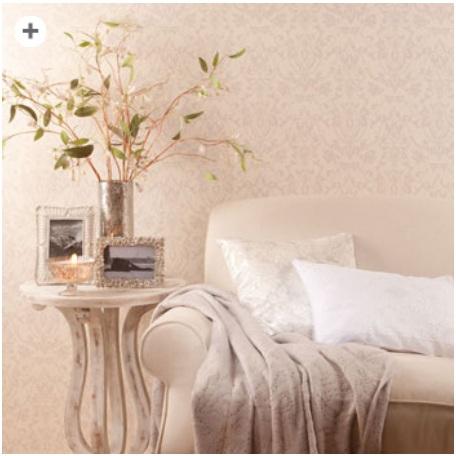 Kp decor studio papel de damasco wallpaper for Wallpaper zara home