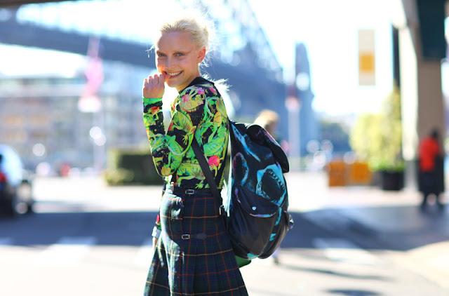backpacks, street style